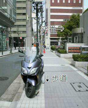 名古屋に二輪駐車場問題は無い?