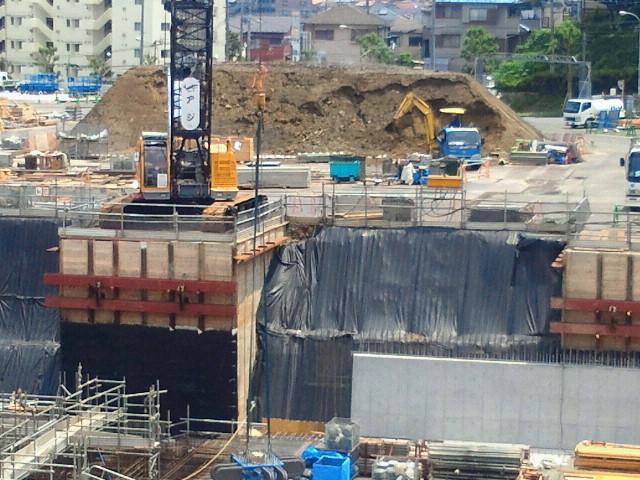 神奈川県二俣川運転免許センターのバイク駐車場が移動
