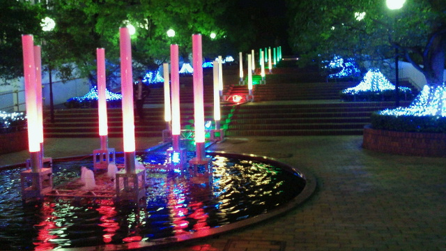東洋大学のクリスマスイルミネーション