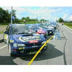 WRC レグ3 帯広SS